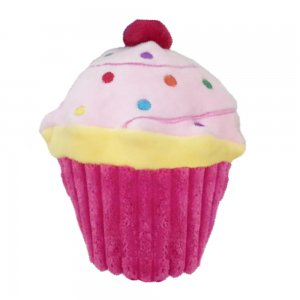 Dog Toy- Cupcake in Pink or Blue