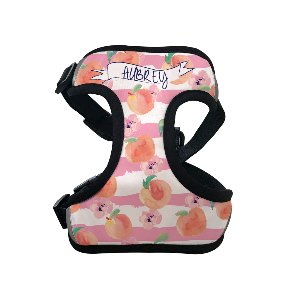 Personalised Pet Harness - Just Peachy