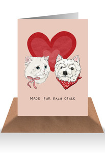 Made Fur Each other Card
