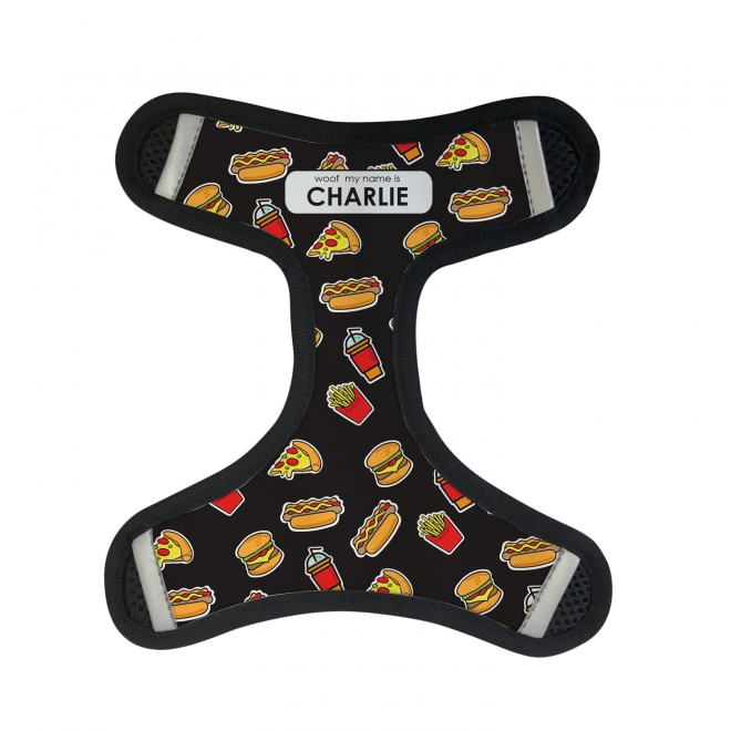 Harness Front - Fast Food in a Variety of Colours