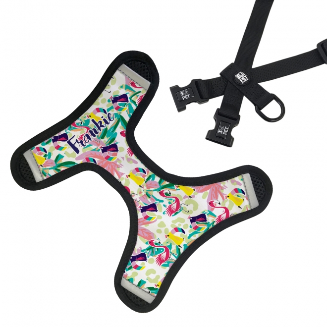 Personalised Pet Harness - Tropicana